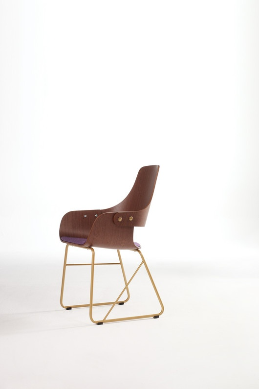 Brown chair by Jaime Hayon