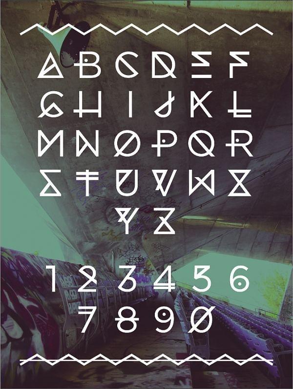 Marina Typeface - Angelica Baini