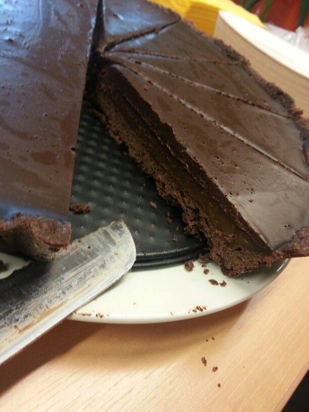 Aria Chocolate Tart. Recipe by Matt Moran