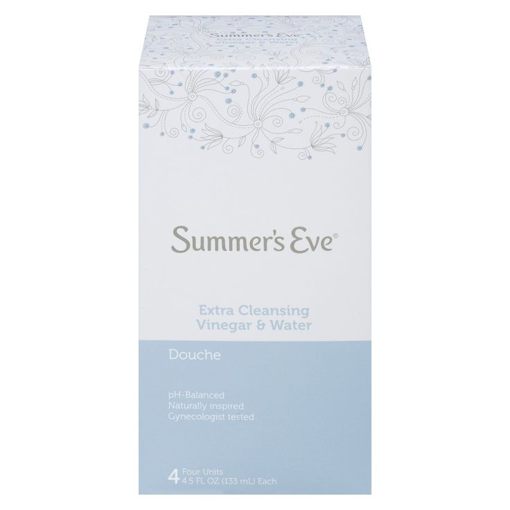 Summer's Eve Extra Cleansing Vinegar and Water Douche - 4 Count