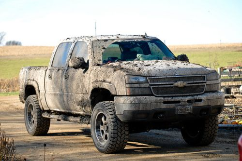 Dirty, country boy trucks!