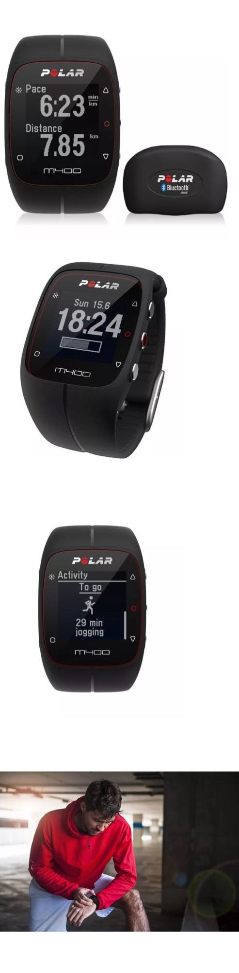 Other Fitness Equipment and Gear 28065: Polar M400 Fitness Watch For Running With Gps And Hrm - Black -> BUY IT NOW ONLY: $149.99 on eBay!