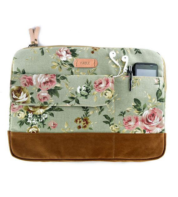 Protect your laptop/macbook in stylish way with our laptop sleeve . Its designed to protect your gadget from dust and scratches,made of canvas fabric and