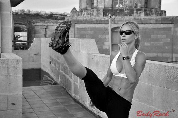 BodyRockTV Workout - 550 reps (no jumping, no gear)