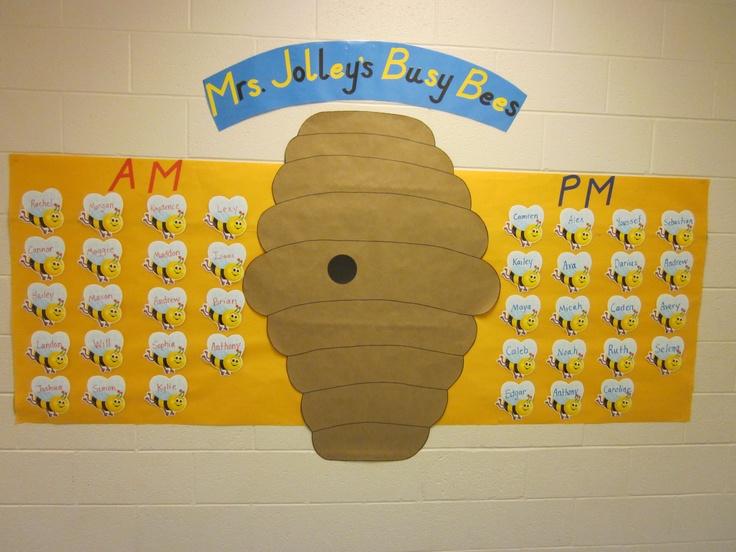 Busy bee hive classroom display bolens busy bees