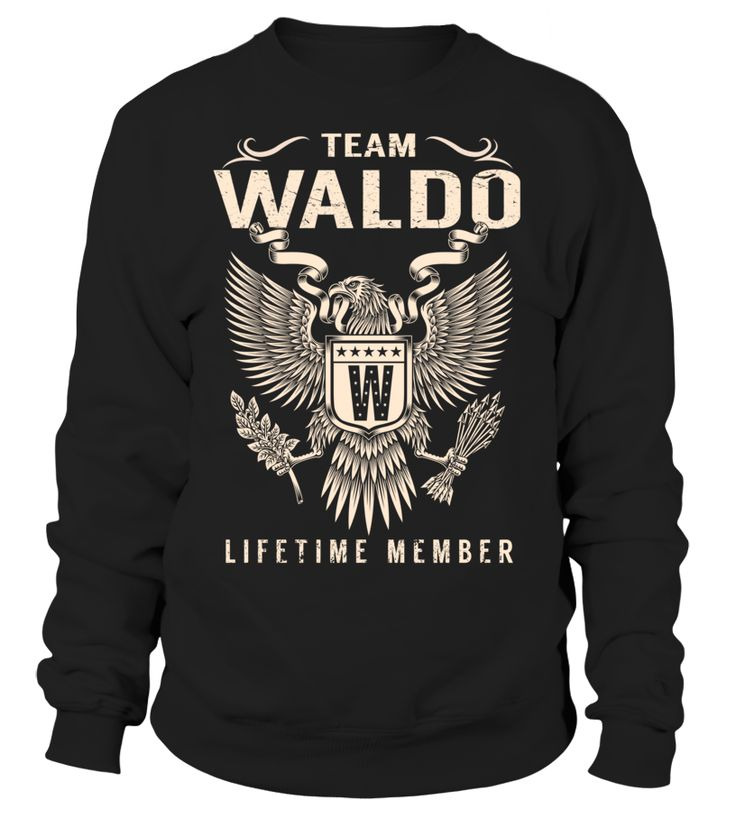 Team WALDO Lifetime Member Last Name T-Shirt #TeamWaldo
