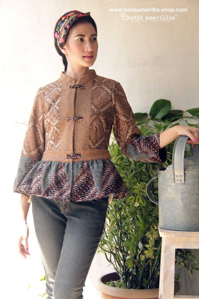 batik amarillis's primavera jacket      strikes the perfect balance between…
