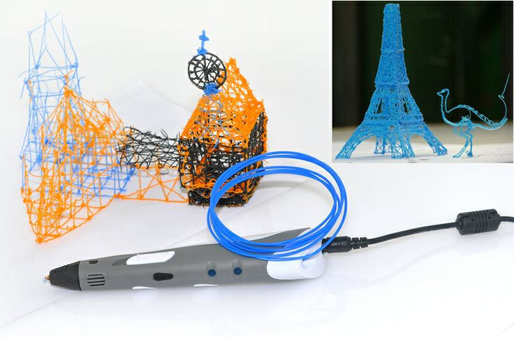 3D Stereoscopic Printing Pen - For 3D Drawing + Arts + Crafts Printing   http://www.chinavasion.com/china/wholesale/Electronic_Gadgets/Cool_Gadgets/3D_Stereoscopic_Printing_Pen_-_For_3D_Drawing_Arts___Crafts_Printing/
