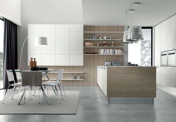 1001 + idee per cucina open space dove funzionalità e