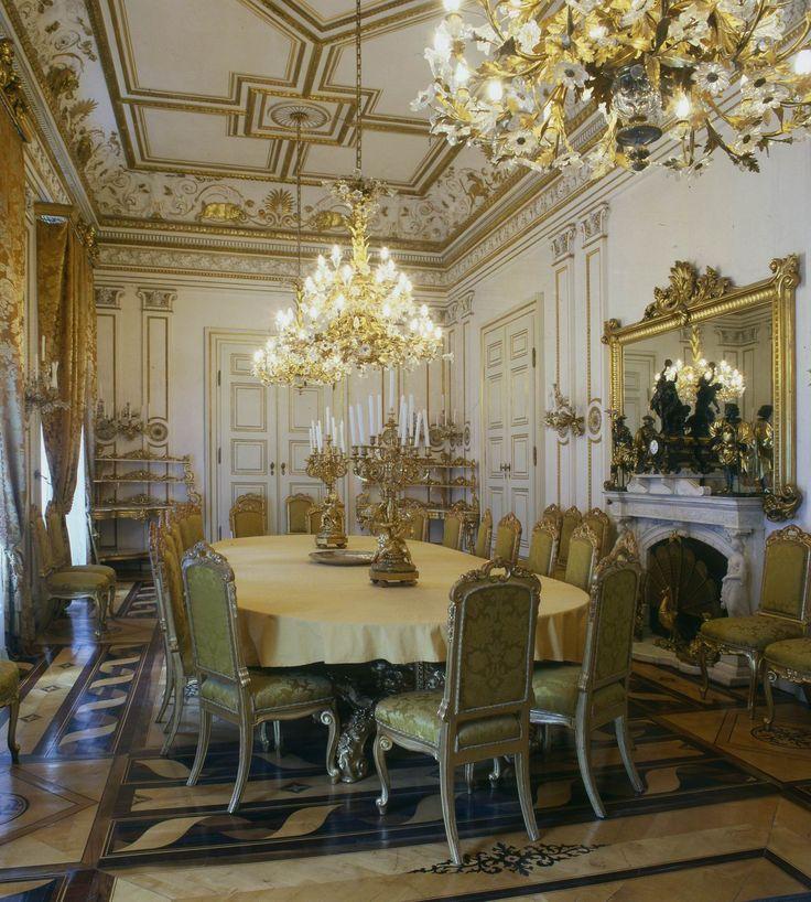 Museo revoltella trieste sala da pranzo di palazzo for Sala di pranzo