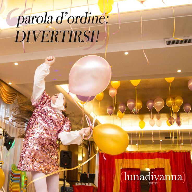 Parola d'ordine: DIVERTIRSI!  #restart #lunadivanna #party #planner #design #style #roma #bestmoments #memories #rapunzel #disney #princess  Luna Di Vanna www.lunadivanna.com +39 392 780 0952