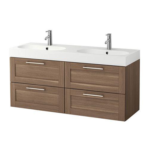 Godmorgon Br 197 Viken Sink Cabinet With 4 Drawers Walnut