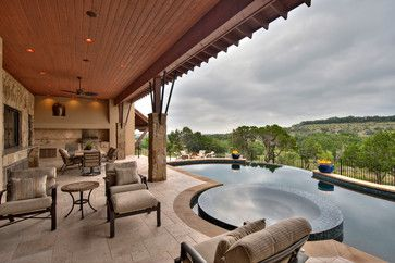 This is outdoor living - just needs some color, but that is so easily achieved with accessories