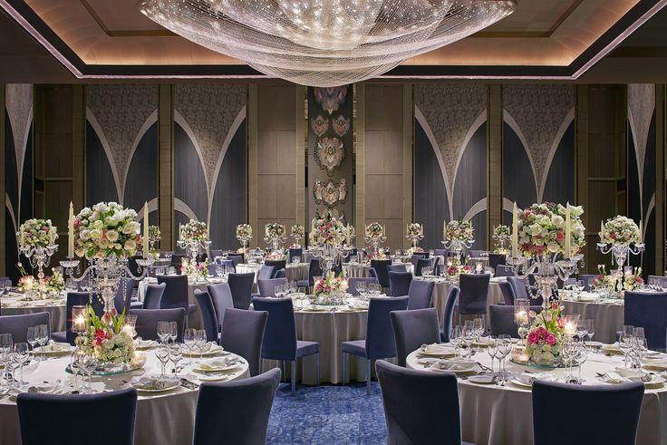 Grand Ballroom Social at Shangri-La at The Fort designed by HBA