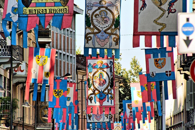 Asti -  Italy: The Palio's flags, by effeventiquattro, via Flickr