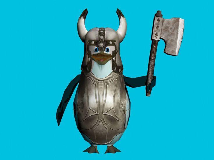 Pinguino De Madagascar by eruizprieto.deviantart.com on @DeviantArt
