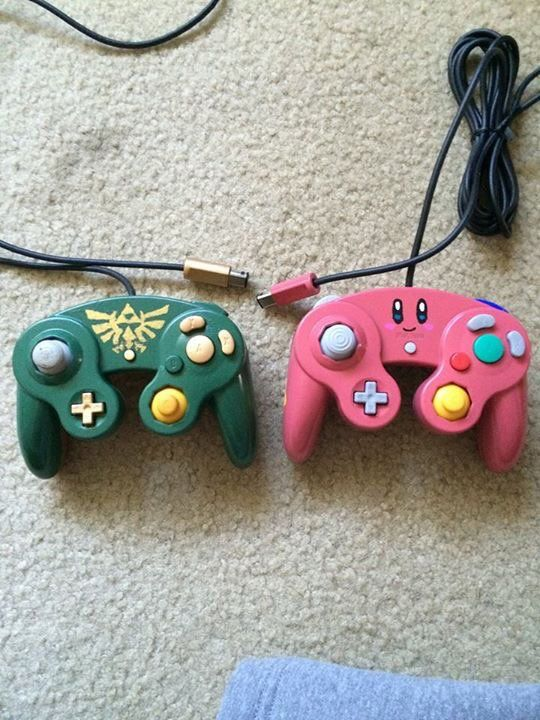 These would be perfect for me and my sis. She loves Zelda and I love Kirby!!!
