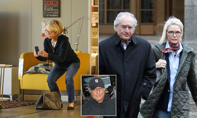 Bernie Madoff's wife's new life - shopping at Ikea and driving Prius