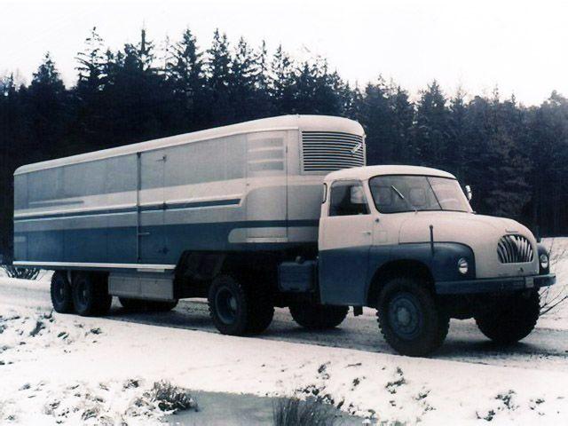 Tatra T138 NTt 4x4 '1958–62