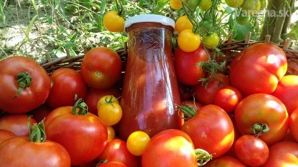 Náš domáci kečup (fotorecept)