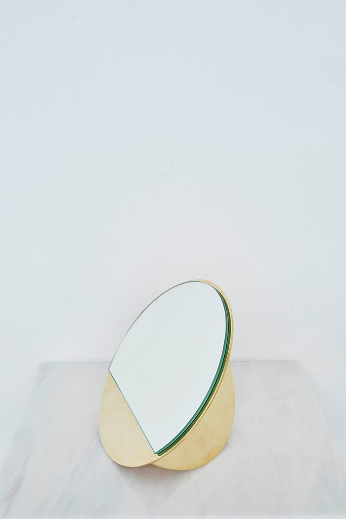 SS2015   KRISTINA DAM STUDIO   mirror sculpture