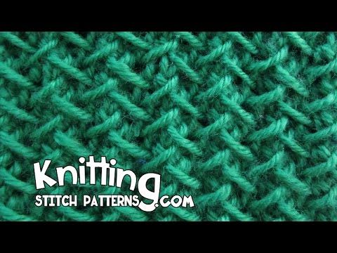 Herringbone stitch | Step-by-step Tutorial - YouTube