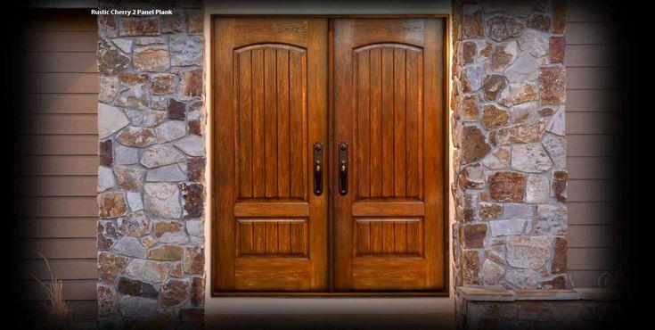 Mastergrain rustic collection available at www - Rustic fiberglass exterior doors ...