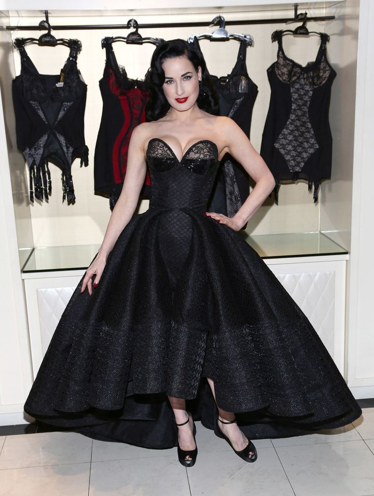 Dita Von Teese - Dita Von Teese Lingerie Collection Launch at Bloomingdale's 59th Street Store in NYC 20 March 2014