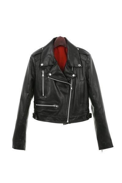 Handmade women biker leather jacket from Illusions Shop by DaWanda.com