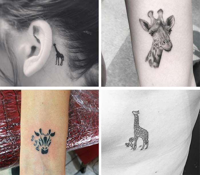 The 25 best small giraffe tattoo ideas on pinterest for Small tattoos with meaning