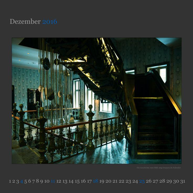 Dezember 2016 - http://smg-treppen.de/dezember-2016/ Umea`s Stora Hotel, das alte Kapitänshotel in Schwedens Hafenstadt an der Ostsee ist das Motiv unseres Treppenkalenders im Dezember 2016.