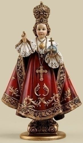 "10"" Infant of Prague Statue Jesus Figurine Catholic Gift by Roman"