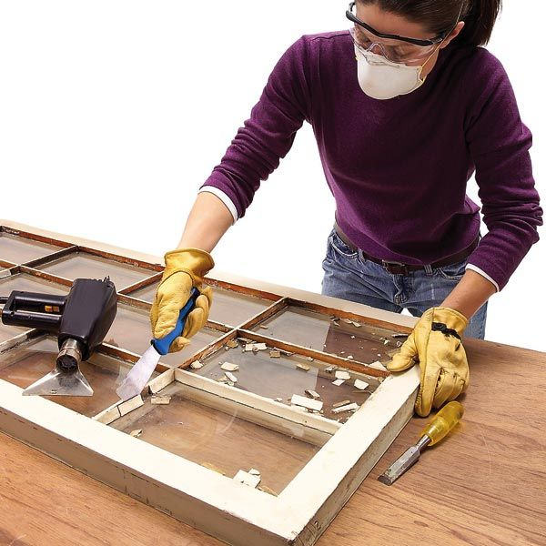 Single pane windows can last for a hundred years or more if properly maintained. Learn how to preserve your windows and keep them draft-free by replacing old glazing putty.