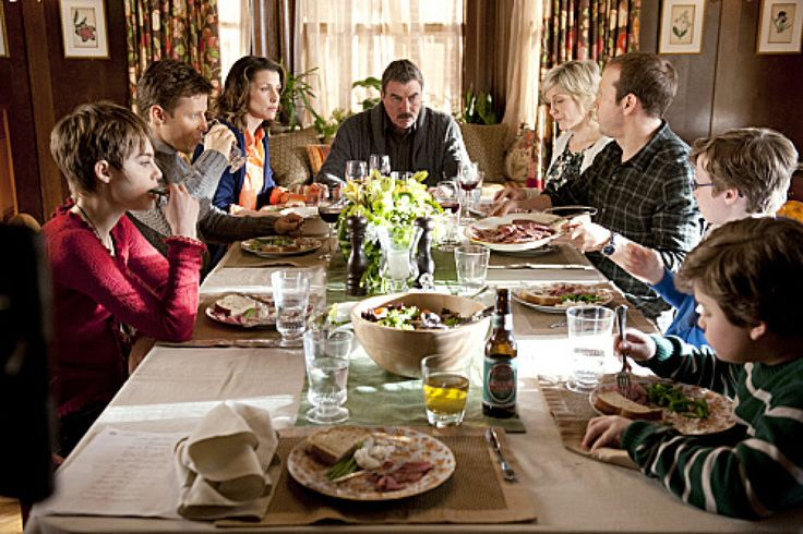 """Blue Bloods"" family dining"