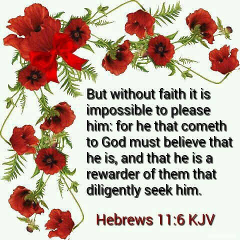 Hebrews 11:6 KJV