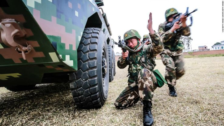China plans to boost its military spending by 8.1% in 2018 as it goes forward with an ambitious modernization drive for its armed forces.