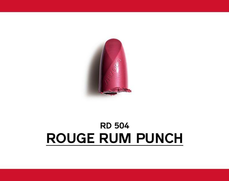 Rosso bruno violaceo, intenso e inebriante, lascia il segno. http://www.shiseido.it/rouge-rouge/