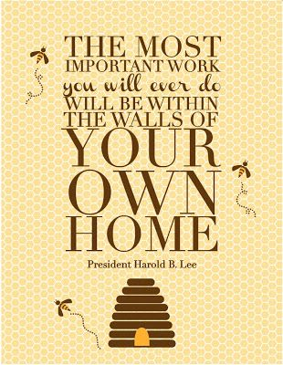 Hippocrates' Housewives: The Most Important Work......    What a fantastic article! Geared towards resident wives, but good for all mothers who are feeling overwhelmed.