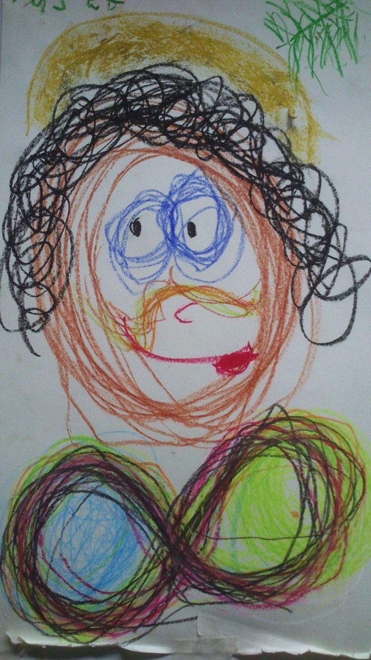 SCHRIJFDANS - De lemniscaat als kraag en bril van Zwarte Piet