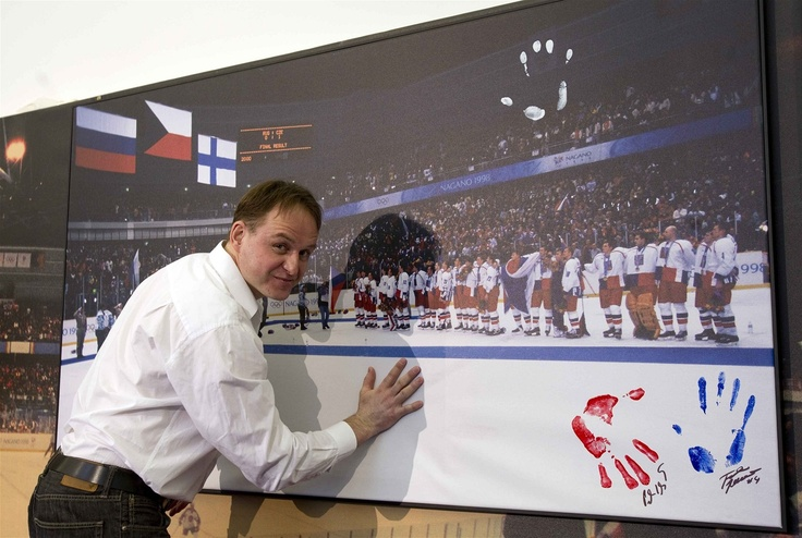 Olympic champions in ice hockey in Nagano after 15 years