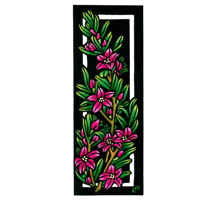 Crowea Deco - Art Deco inspired Limited Edition Handpainted Linocuts by Lynette Weir