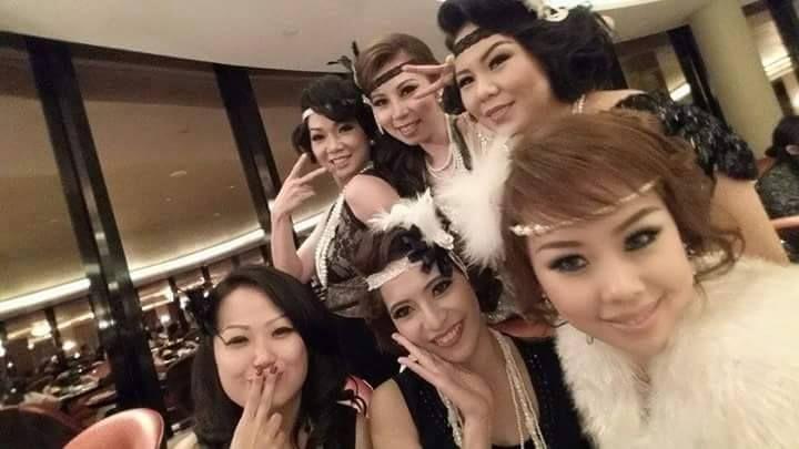 Gatsby theme Birthday Party