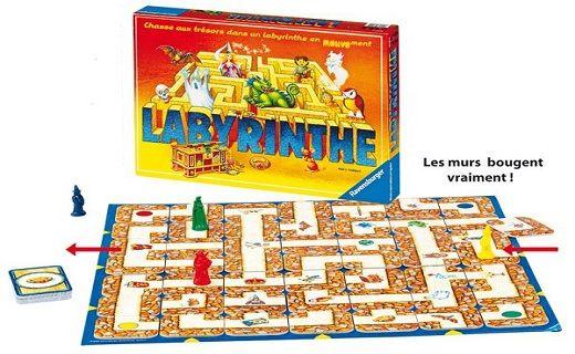 Le jeu de société Labyrinthe