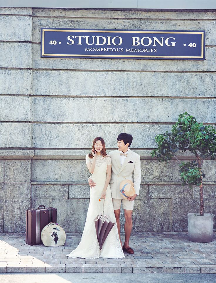 Korean Studio Pre-Wedding Photography: 2016 Whimsical Collection  by Bong Studio on OneThreeOneFour 2