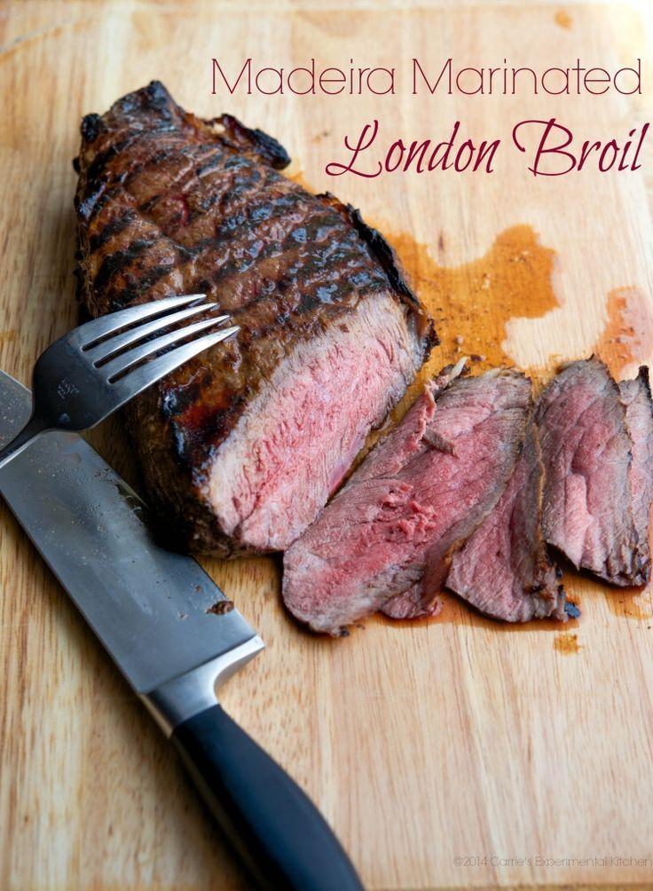 Madeira Marinated London Broil