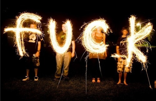 fuck: Lights, Quotes, Favorite Word, Funny, Posts, Fuck Sparklers, Sparklers Fuck