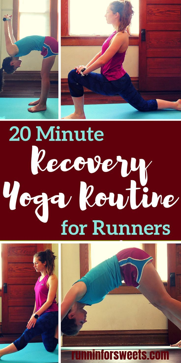 Recovery Yoga Routine For Runners The Best Yoga After Running Recovery Workout Yoga For Runners Yoga Routine