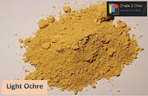 # cp22 - Luz ocre - tiza 2 CHIC ml/312 G & látex en polvo de color DIY pintura que hasta 2 litros Shabby Chic Eco tiza pintura para muebles: Amazon.es: Hogar