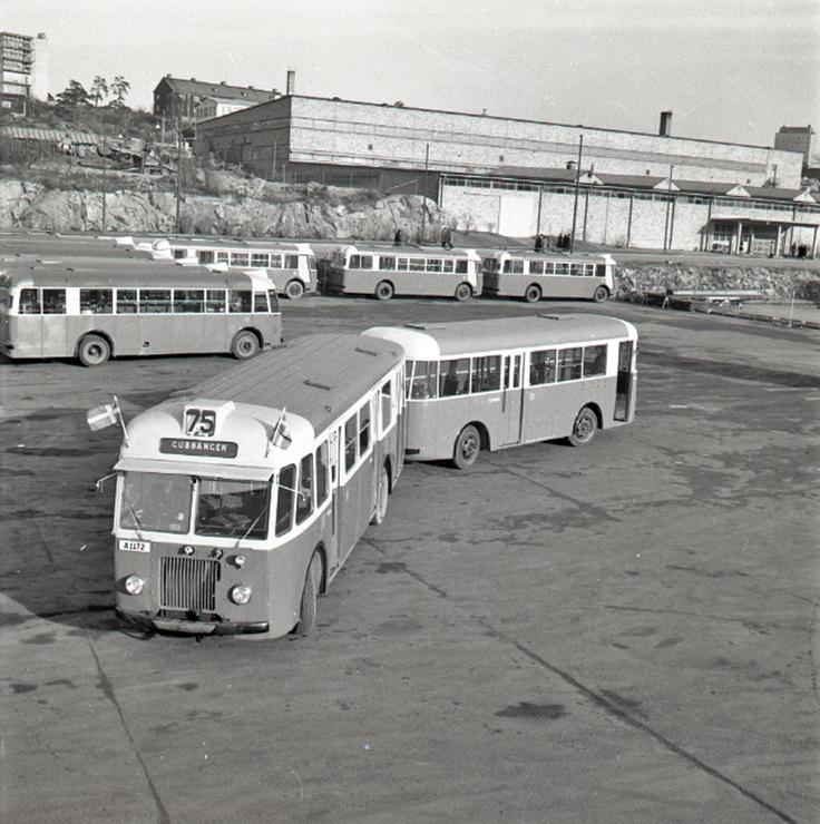 Buss med släpvagn | Spårvägsmuseet