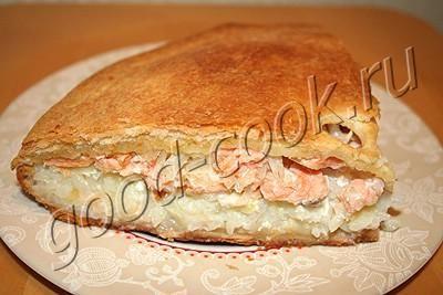 рыбный пирог с рисом (по финским мотивам)